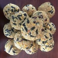 Wild Bird Suet Balls - Cranberry/Blueberry Sunflower - Qty of 10 - Free Shipping