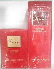 Van Cleef&Arpels Birmane Edp 50ml Spray + GIFT B.lotion 200ml Vintage New & Rare