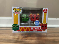 IN HAND * Funko POP Ad Icons Fry Kids Green Red Funko Shop Mcdonald's 2 Pack MCD
