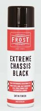 Frost Extreme Satin Black Chassis Paint High Performance Aerosol Spray 500ml