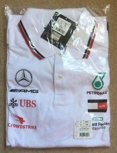 Mercedes-AMG Petronas F1 2020 Team Polo *BRAND NEW*