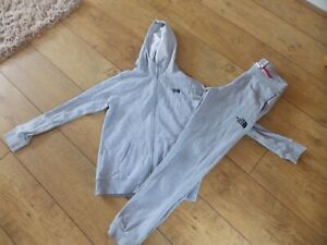 BOYS THE NORTH FACE TRACKSUIT TOP JOGGERS AGE 12-13 YEARS LARGE