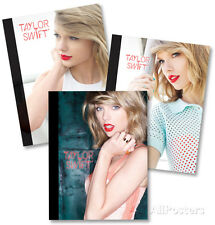 Taylor Swift Composition Notebooks - Set of 3 - 7.5x10 - School Supplies