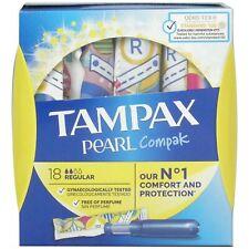 Tampax Compak Pearl Regular - 18