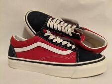 Vans New Old Skool 36 DX Anaheim Factory OG Navy Men Size USA 9 UK 8.5 EUR 42