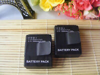 2X Rechargeable AHDBT-401 Battery for Gopro HERO4 Black Silver HD Camera