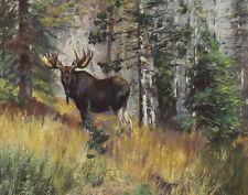 Rungius Carl Moose In A Landscape #1 Print 11 x 14   #4755