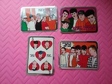 New Kids On The Block - Nkotb 4 - Awesome Foil Stickers (Rare/Nm)