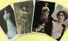 ☆ FRENCH ACTRESS / ARTISTE / CABARET SHOWGIRL / DANCER ☆ 1900s Postcards LIST 9