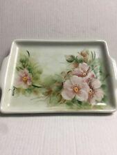 New listing Vintage Porcelanarts France Signed Small Tray Parana