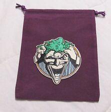 DC Dice Masters World's Finest Justice League PURPLE JOKER Drawstring DICE BAG