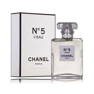 CHANEL No 5 L'EAU WOMEN * 1.2/1.3 oz (35 ml) EDT Toilette Spray * NEW & SEALED