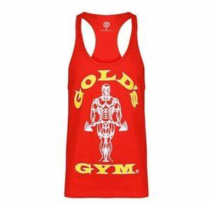Golds Gym Tank Top Stringer Joe Premium rot
