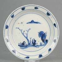 Antique Chinese Porcelain Late Ming or Transitional Ca 1600 China Litera...