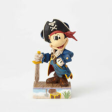 Jim Shore Disney Traditions Pirate Mickey Mouse Set Sail For Adventure 4056760