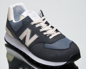 New Balance 574 Men's Outerspace Sea Salt Athletic Lifestyle Sneaker Casual Shoe