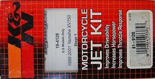 NOS K&N DYNO JET MOTORCYCLE JET KIT DJY 4128 1988-1997 YAMAHA XV 750