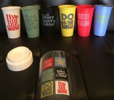 Starbucks Reusable Cup Collection Lot Of 6 Cups 16 Oz New 2017 Collectible
