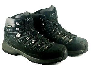 Berghaus Mens UK 9 EU43 Blue Grey Explorer Trek GTX Tech Hiking Trek Trail Boots