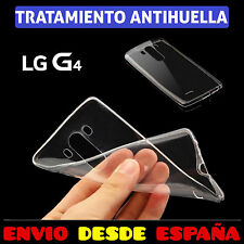 FUNDA TPU DE GEL SILICONA ANTIHUELLAS TRANSPARENTE PARA LG G4 CARCASA PLASTICO