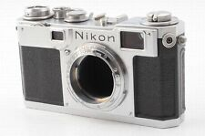 Nikon S2 Rangefinder body film camera Nippon Kogaku from Japan #82301