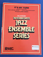 It's My Turn, Michael Masser, arr. Bob Lowden, Big Band Arrangement