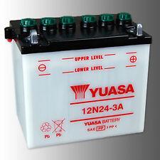 YUASA 12N24-3A Motorradbatterie 12V 24Ah