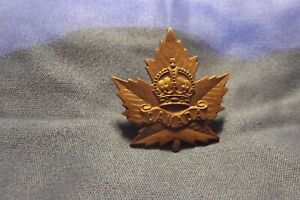 WW I CEF Collar Badge To The General List