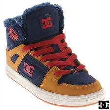 DC SHOES Kid's Rebound WNT Winterized High Top Shoes *Sz 4 (USA) 35 (EUR) 3 (UK)