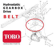 savers Genuine TORO 15-38 16-38 17-38 HXLE (Hydro) GEARBOX BELT 88-6280 O244