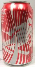 EMPTY UNOPEN Coke Coca-Cola 2014 Sochi Russia Winter Olympics Downhill Skier USA