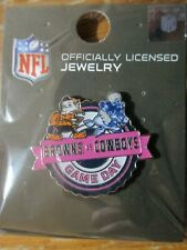 Dallas Cowboys VS Cleveland Browns Game Day Lapel Pin October 4, 2020 AT&T NEW