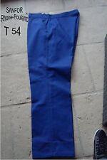 PANTALON DE TRAVAIL JARDIN BRICOLAGE MECANIQUE BLEU  NEUF GRANDE TAILLE T 54 /56