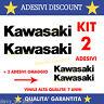 ADESIVI  MOTO SERBATOIO KAWASAKI Z750 Z 750 Z1000 600 636 Z800 NINJA MOTO CASCO