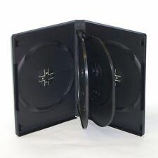 5 CUSTODIE NERE DVD 6 POSTI 22 MM per CD DVD -R per verbatim tdk SONY box16