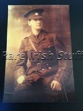 Michael Collins - Young & Wearing Irish Volunteers Uniform 1916 - Rising Print