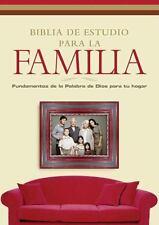 Biblia de estudio para la Familia : La palabra de Dios como fundamento para...