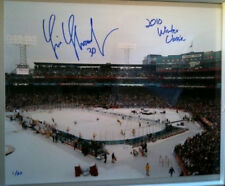 Tim Thomas Bruins signed winter classic limited 16x20