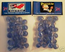 2 BAGS OF POPSICLE ICECREAM TREAT  CATSEYE  MARBLES