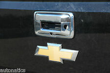 Chevrolet Silverado 2014-2017 TFP ABS Chrome Tailgate Cover (W/ CAMERA)