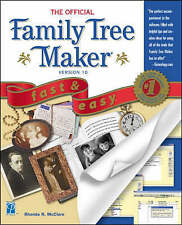 USED (VG) The Official Family Tree Maker 10 Fast & Easy (Fast & Easy (Premier Pr