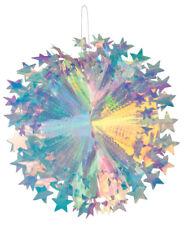 Iridiscentes Holográfico Metalizado Panal Disparador Star Bola