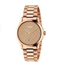 2aa9993de13 Nuevo Gucci G-Timeless Tono Oro Rosa Acero Inoxidable Dial de Oro Rosa  YA126482