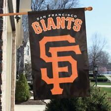 """San Francisco Giants MLB Applique & Embroidered Two Sided Banner Flag 44""""X28"""""""