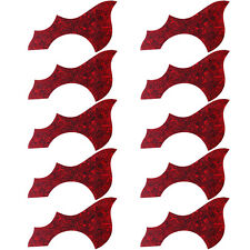 10 Pcs Acoustic Guitar Pickguard Adhesive for Guitar Parts Anti-scratch PVC