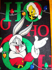 LOONEY TUNES ~  BUGS BUNNY ~  CHRISTMAS XMAS TIE NECKTIE ~  BIG !!! ~  HO HO HO