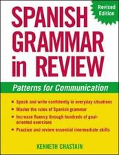 Spanish Grammar in Review by Kenneth Chastain (2003, Paperback, Revised)