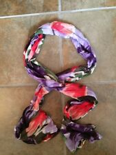 Ladies Multi Colored Polyester Scarf