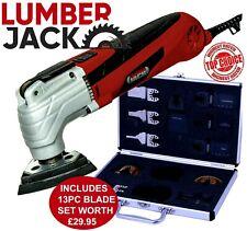 Lumberjack Oscillating Multi Tool Detail Sander 230V FREE Accessory Set RRP £30