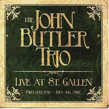 THE JOHN BUTLER TRIO Live at St Gallen Switzerland July 3rd 2005 2CD Swamp Thing